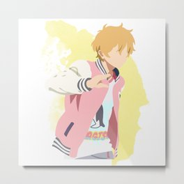 Free! Minimalist (Nagisa) Metal Print