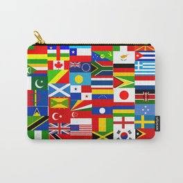 Flag Montage Carry-All Pouch