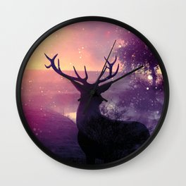 Morning Mist Wall Clock