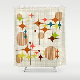 Starbursts and Globes 4 Shower Curtain
