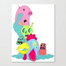 chanchito & cia Canvas Print