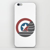 stucky iPhone & iPod Skins featuring Stucky by Brittnee-Leigh