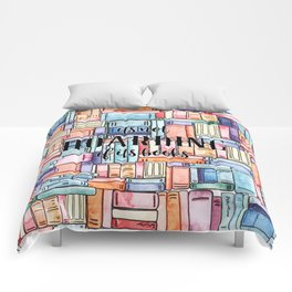 It's Not Hoarding if Its Books Comforters