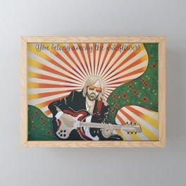 Wildflowers (Tom Petty Tribute Mural, Gainesville) Framed Mini Art Print