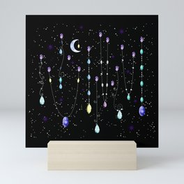 Celestial Teardrops Mini Art Print