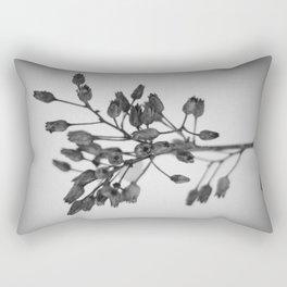 Winter Skeletons III Rectangular Pillow