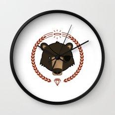 Mr. Bear Wall Clock