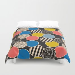 Memphis Inspired Pattern 6 Duvet Cover