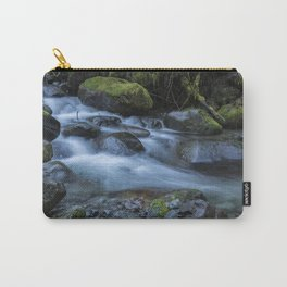 Water, Moss and Rocks Carry-All Pouch