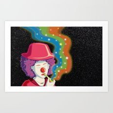 Let the Laughter Begin Art Print