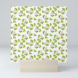 Field clover Mini Art Print