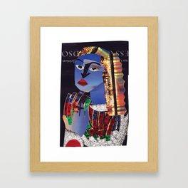 Sylvester #PrideMonth Collage Portrait Framed Art Print
