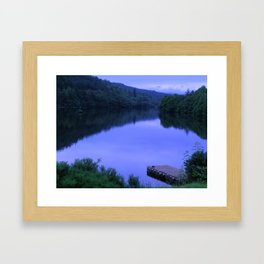 A moment in time at Great Glen, Scotland Framed Art Print