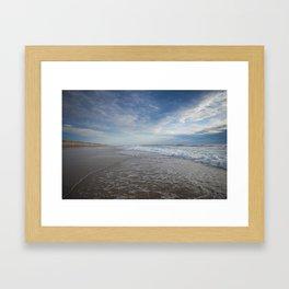 Atlantic Ocean at Sunset Framed Art Print