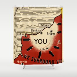 We Surround You Shower Curtain