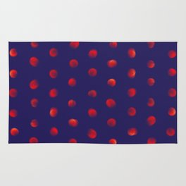Total eclipse of the polka dot Rug