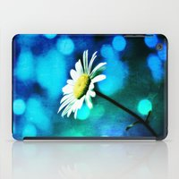 malachite iPad Cases featuring Azurite Malachite Daisy  by minx267