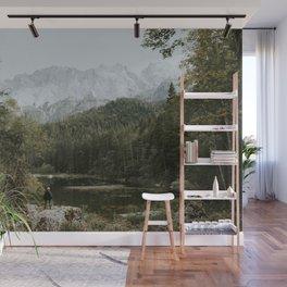 Mountain lake vibes II - Landscape Photography Wall Mural