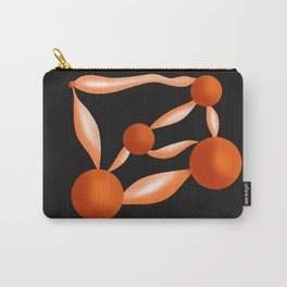 Blings - Black & Orange Carry-All Pouch