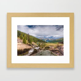 High Dynamic Range Imagery {HDR} Framed Art Print