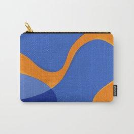 Orange Pop | Happy modern Art Carry-All Pouch