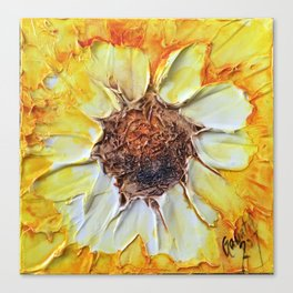 Big Flower Canvas Prints | Society6