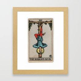 12 - The Hanged Man Framed Art Print