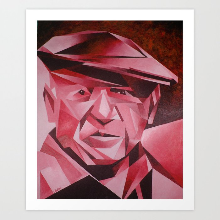 Cubist Portrait of Pablo Picasso: The Rose Period Art ...