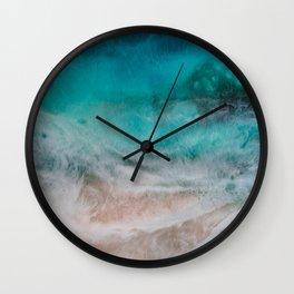 Reef Break Wall Clock