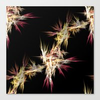 sparkles Canvas Prints featuring Sparkles by Sartoris ART