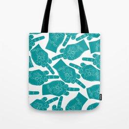 Nicole Archer Middle Finger Bag Tote Bag
