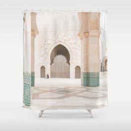 Hassan II Mosque - Casablanca II Shower Curtain