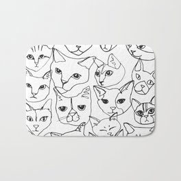 Cats! Bath Mat