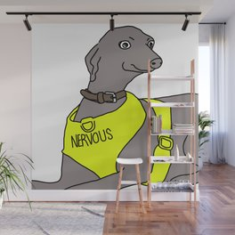 NERVOUS Wall Mural