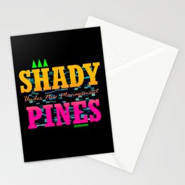 Shady Pines - Under New Management Stationery Cards