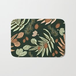 Christmas pattern. Bath Mat