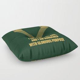 Loki Avenger Floor Pillow