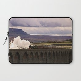 Flying Scotsman at Ribblehead Laptop Sleeve