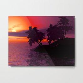 Island Life Metal Print