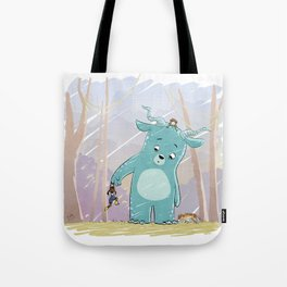 Friendly Creature Tote Bag
