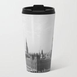 Big Ben - Black and White Travel Mug