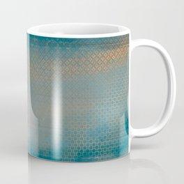 ABUR with Gold on Turquoise Coffee Mug
