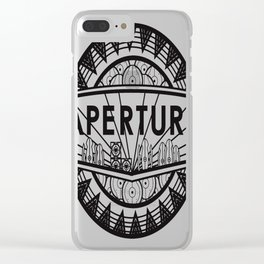 No-GLaDOS-or-Kings Clear iPhone Case