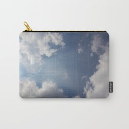 Blue Sky With Clouds Carry-All Pouch