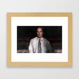 The Encroaching Darkness - Better Call Saul Framed Art Print