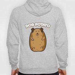 Dog Potato Funny Cute Fat Potato Canine Animal Hoody