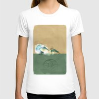 airbender T-shirts featuring Avatar Korra by daniel