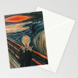 Screaming Lips Stationery Cards