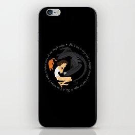 Ripley, the Alien and Jonesy iPhone Skin