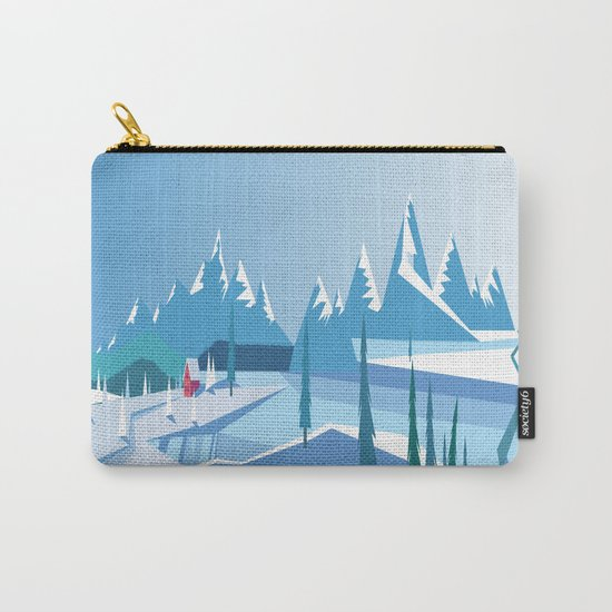 In The Ice Cold North No. 2 Carry-All Pouch